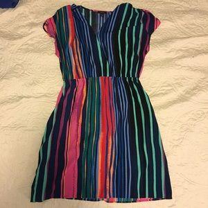 Large, multi-color, Hologen dress